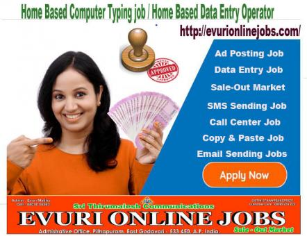 COPY-PAST JOBS AVAILABLE HOME BASED WORKS